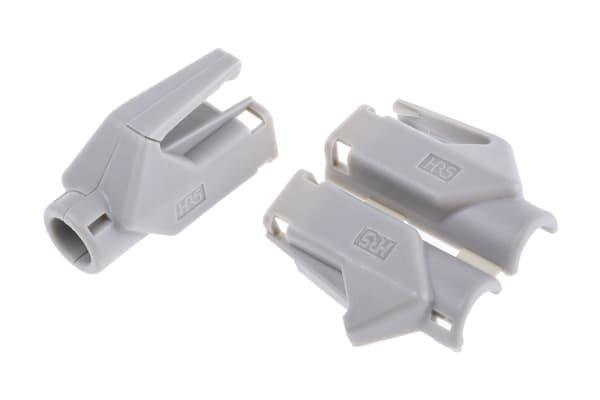 Product image for GREY PROTECTIVE HOOD FOR RJ45 DATA PLUG