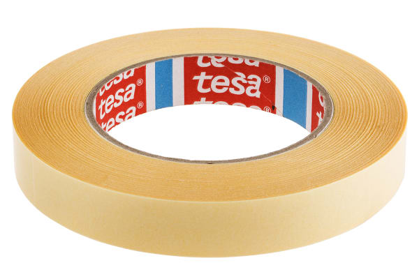 Product image for ECONOMY DOUBLE SIDED TAPE,50M L X 19MM W