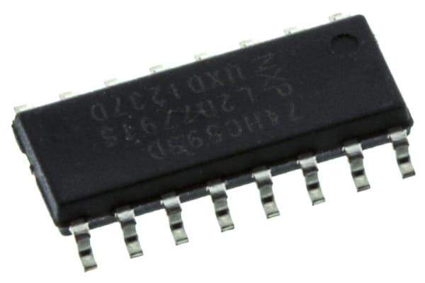 Product image for 8-BIT SIPO SHIFT REGISTER,74HC595D