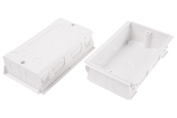 Product image for 2 GANG BACK BOX FOR MK PINNACLE TRUNKING