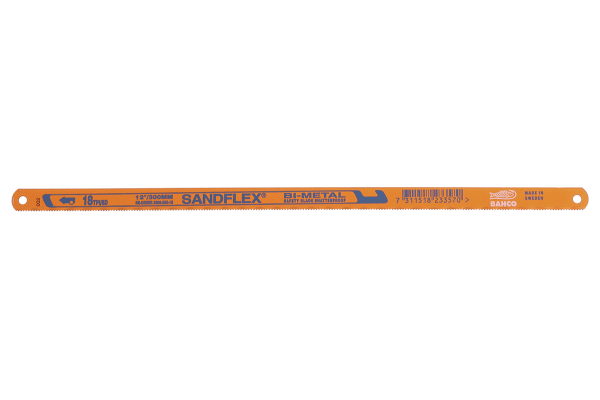 Product image for Flexible bi-metal hacksaw blade,18tpi