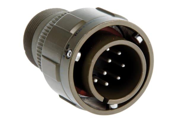 Product image for 10 way bayonet lock cable plug,18-1