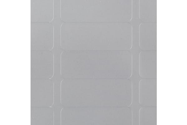 Product image for L6008 SILVER HD ADDRESS LABEL,25.4X10MM