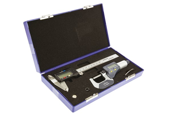 Product image for RS electronic caliper & micrometer set