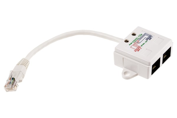 Product image for T-ADAPTER CAT.5E UTP