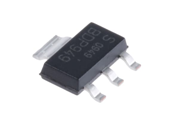 Product image for SMT NPN transistor,BDP949 3A Ic 1Vce
