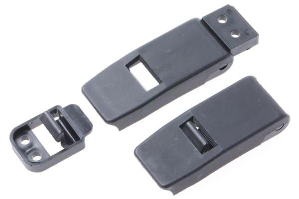 Product image for Black nylon flipper latch