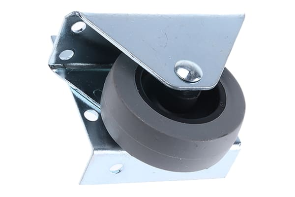 Product image for Low level fixed castor,50mm 20kg load
