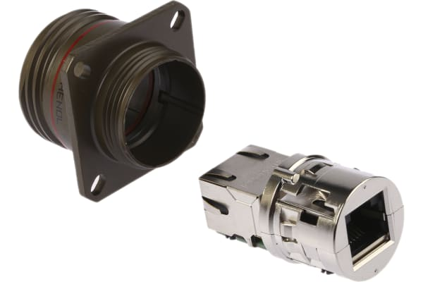 Product image for Amphenol, Female Cat5e RJ45 Connector