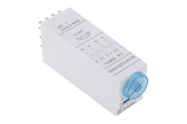 Product image for 4P multifunction timer,0.05s-100hr 24V