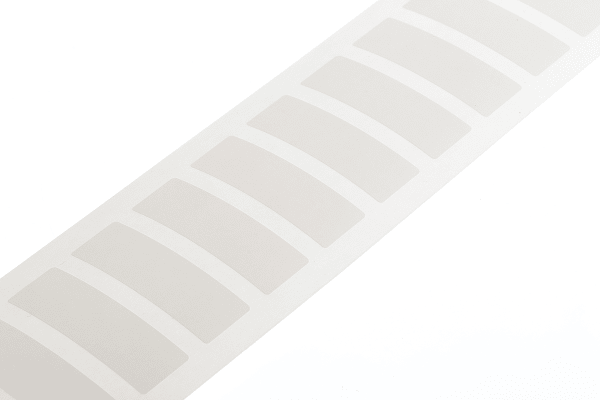 Product image for Blank tamperproof write-on label,38x11mm