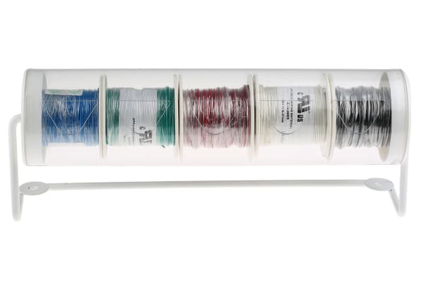 Product image for UL1007 hook-up wire dispenser kit,24AWG