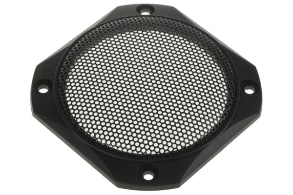 Product image for BLACK PLASTIC 3.3IN SPEAKER GRILLE