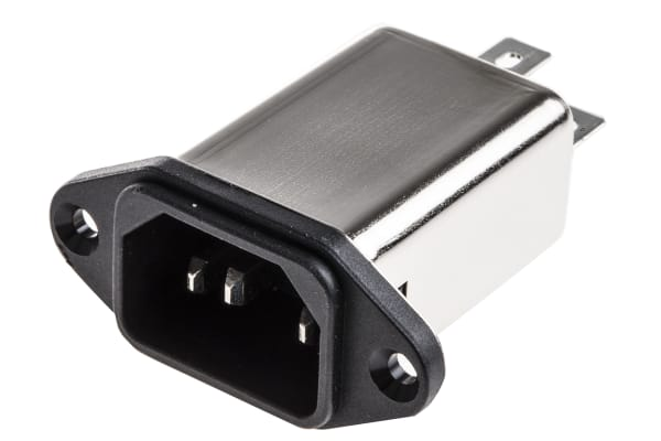 Product image for FN9222 SCREW MOUNT INLET FILTER,3A