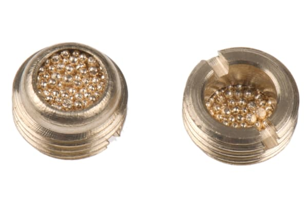 Product image for Bronze low profile silencer,G 1/8
