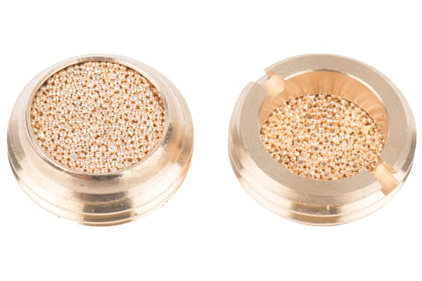 Product image for Bronze low profile silencer,G 1/2