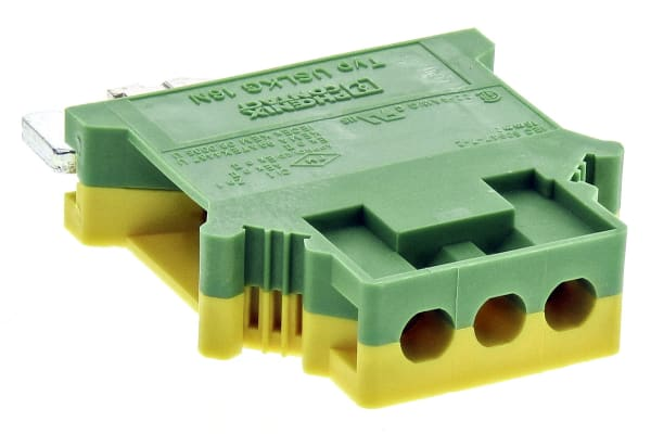 Product image for Green/yellow earth terminal conn,16sq.mm
