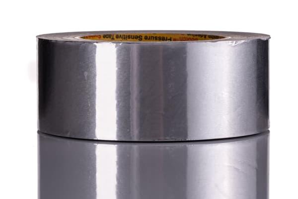 Product image for 1436 aluminium foil tape,50m Lx50mm W
