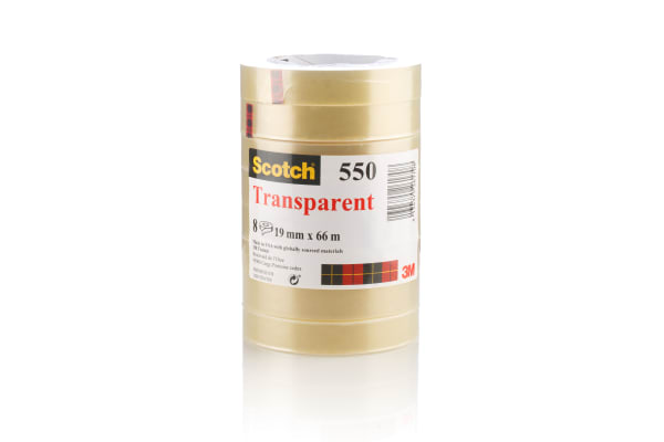 Product image for Scotch transparent adhesive tape,66m L