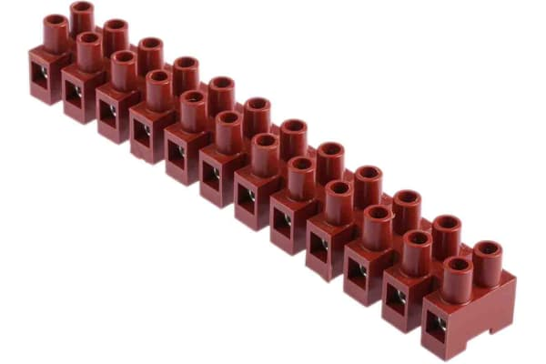 Product image for 12 way screw terminal block