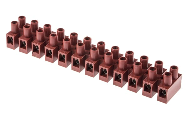 Product image for 12 Way Terminal Block,Glass Fill UL94V-0