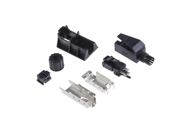 Product image for Harting, RJ Industrial, Male Cat5 RJ45 Connector