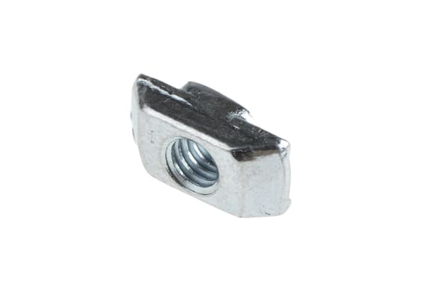 Product image for 6MM SLOT GALV STEEL T-GROOVE NUT,M4