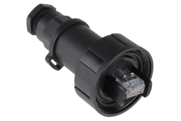 Product image for BUCCANEER IP68CAT5E RJ45 CABLE CONNECTOR
