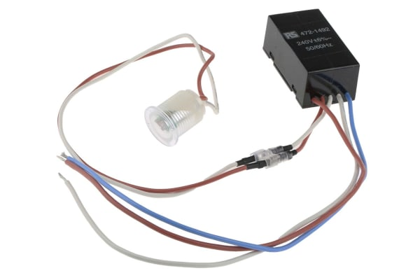 Product image for Royce Thompson Electric 600mW Lighting Controller Detector, Cadmium Sulfide, Remote Mount, 220 → 270 V ac