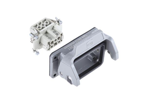 Product image for 1 lever,6 way panel bulkhead socket kit
