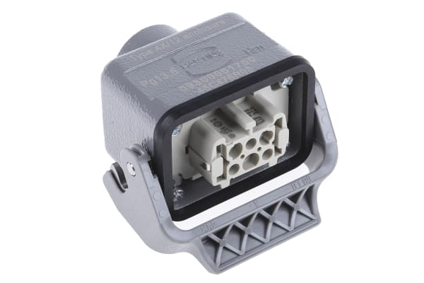 Product image for 1 Lever 6 way coupler hood,16A PG13.5