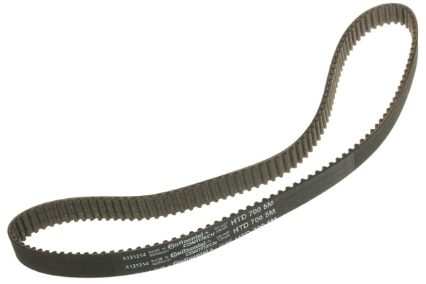 Product image for Contitech 700 5M 15, Timing Belt, 140 Teeth, 700mm 15mm