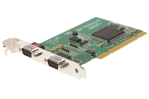 Product image for UNIV PCI CARD,UC-357 1XRS422/485 1XRS232