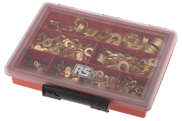 Product image for Plain Brass Washer Kit