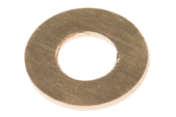 Product image for Self colour brass metric washer,M3