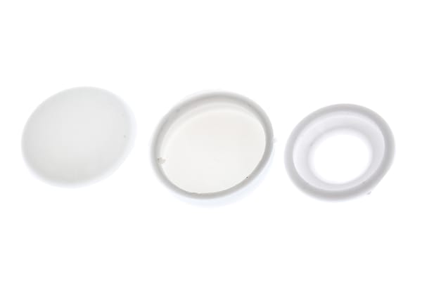 Product image for White Polypropylene Screw Cap Kit