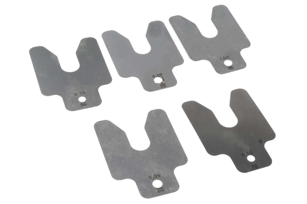 Product image for S/steel assortment shim pack 1
