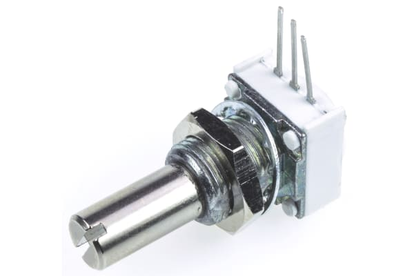 Product image for 149 1Section Cermet Pot SingleShaft 50k