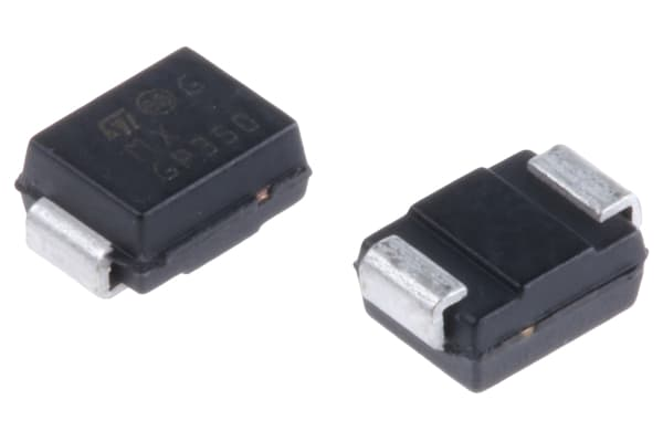 Product image for Bidirectional 600W TVS diode,SM6T39CA