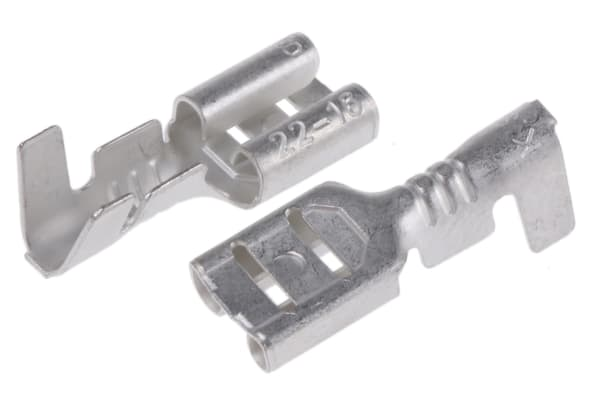 Product image for 4.8 x 0.8mm receptacle,0.5-1.25 sq.mm