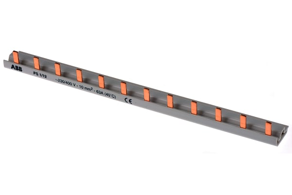 Product image for Busbar 1 Pole, 12 modules