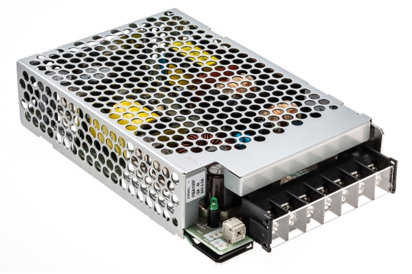 Product image for Cosel, 108W Embedded Switch Mode Power Supply SMPS, 24V dc, Enclosed