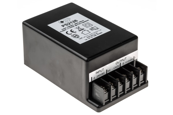 Product image for LINEAR PSU,+/-12VDC+/-400MA 9.6W