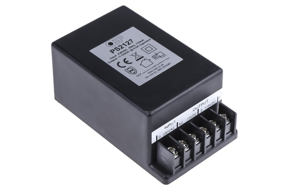 Product image for LINEAR PSU,+/-15VDC +/-500MA 15W