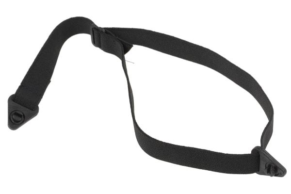 Product image for 3M PELTOR Elastic, Plastic, Ribbon Black Chin Strap