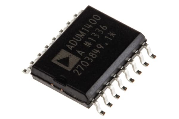 Product image for ADuM1400A quad 90Mbps 4/0 bus isolator