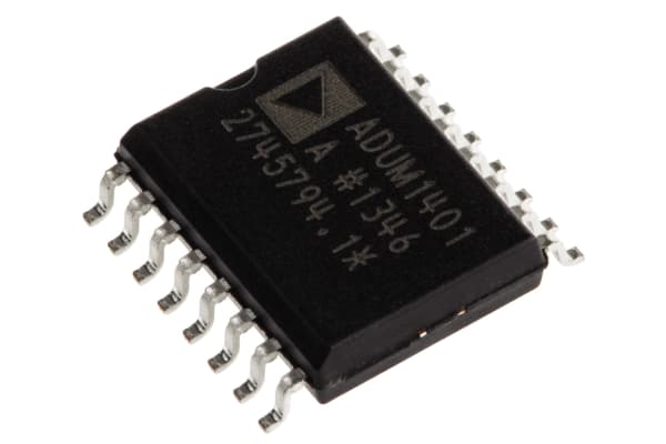 Product image for ADuM1401A quad 90Mbps 3/1 bus isolator