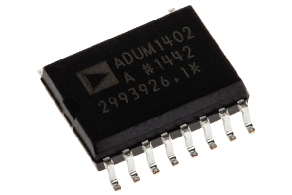 Product image for ADuM1402A quad 90Mbps 2/2 bus isolator