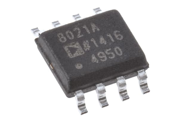 Product image for AD8021 200MHz VFB LN SMT op amp