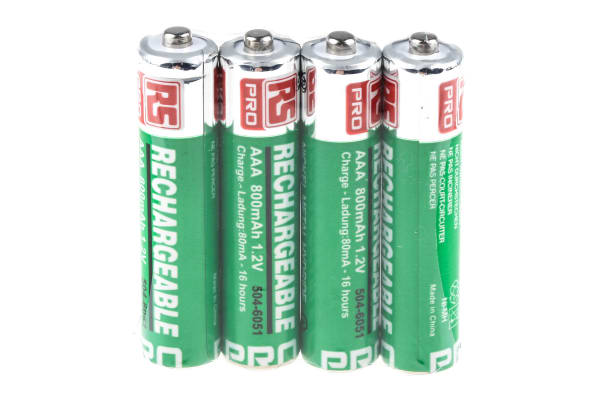 Product image for AAA NiMh battery,1.2V 800mAh